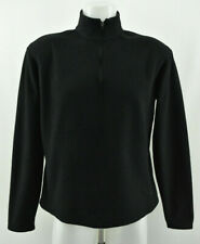 PATAGONIA Capilene Fleece Jacket Black Half Zip Neck Womens Bodywarmer Size L