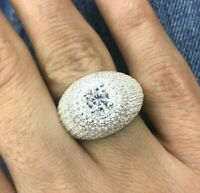 925 Sterling Silver Handmade Authentic Turkish Zircon Ladies  Ring Size 6-12
