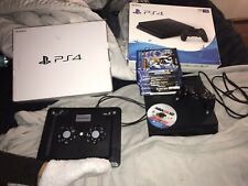 Sony PlayStation 4 Slim 1TB Console - Jet Black With 11 Games And A Cooling Fan