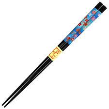 "Japanese 9"" Sakura Lacquered Wooden Chopsticks Hair Stick Made in Japan"