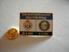 a1 PARTIZAN BEOGRAD - INTER cup uefa champions league 1964 spilla football pins