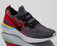 Nike Epic React Flyknit 2 Mens Black Running Shoes Sport Sneakers BQ8928-007