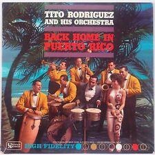 TITO RODRIGUEZ: Back Home in Puerto Rico UNITED ARTISTS Latin Jazz Mambo