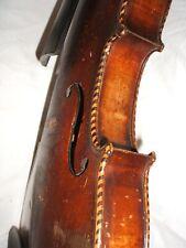 old violin lionhead inlays alte geige löwenkopf intarsien violon vieux vecchio