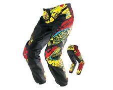 ONEAL Element Crosshose S14 ACID Enduro Motocross Pant gelb 36