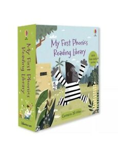 Usborne My First Phonics Reading Library BACK IN STOCK   3 Books For £6