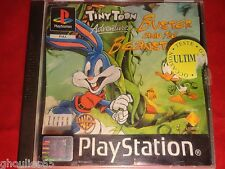 TINY TOON ADVENTURES BUSTER AND THE BEANSTALK PLAYSTATION 1 PS1 PSONE PS2 PS3
