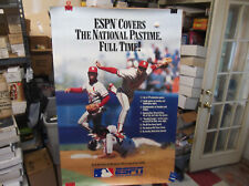 "New listing RARE OZZIE SMITH 1990 ESPN BASEBALL ADVERTISEMENT POSTER 24"" X 36"""