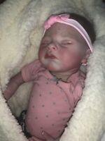 Reborn Real Born Baby Girl Doll Newborn Realistic Life Like Beautiful