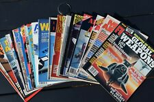 Large Lot of Military Magazines 1980's 1990's 22 Issues Aircraft Warbirds Aces