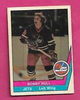 RARE 1977-78 OPC WHA # 50 JETS BOBBY HULL VG+ CARD (INV# C9848)