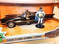 Classic TV Series 1966 Batmobile 1/24 Die-Cast Model Car- Batman & Robin figures