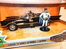 Classic TV Series 1966 Batmobile 1/24 Die-Cast Model Car- Batman & Robin figures