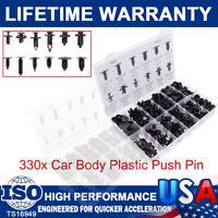 330X Car Body Plastic Push Pin Rivet Fasteners Trim Moulding Clips For Toyota GM