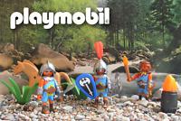 playmobil ® Römer ★ 3 Gladiator Kämpfer ★ Barbaren Araber mit Streitaxt ★ Set !