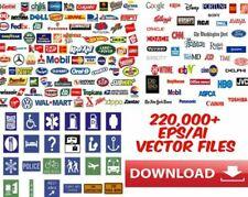 220k+ Vectors EPS Clipart Design Logos Icons Fonts Cut Signs Vinyl Plotter Laser
