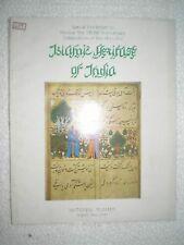 ISLAMIC HERTAGE OF INDIA RARE BOOK INDIA 1981
