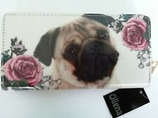 pug purse dog purse animal purse coin purse note purse REDUCED FROM £20 £16 £14