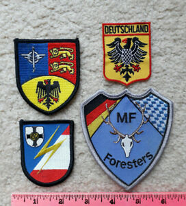4 German & NATO military patches > Air Force