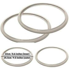 9 Fagor (Pack Of 2) Pressure Cooker Replacement Gasket - Fits Many 4,6 And 7 NEW