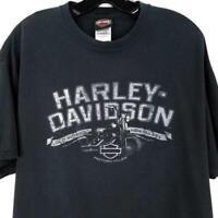Harley Davidson RK Stratman TShirt XL Dark Gray Old School New Rules Biggs