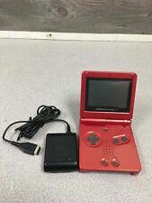 Nintendo Gameboy Advance SP Handheld Bundle