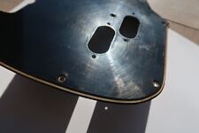 '66 '71 Fender Mustang bass pickguard 67 68 69 70 3 ply black vintage relic USA