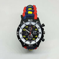 Paracord Watch with The Royal Artillery Colours a Great Gift