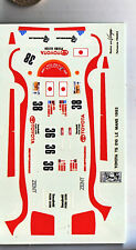 decals decalcomanie toyota ts 010 lm le mans 1993     1/43