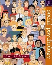 Social Psychology Myers, David G. Hardcover