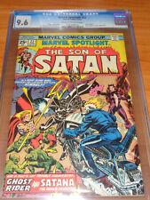 MARVEL SPOTLIGHT #22 - CGC 9.6 NM+ (1st Comic Book App. Satana ; Ghost Rider)