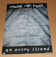 Neutral Milk Hotel on Avery Island Poster Original Promo 20x15
