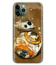 Star Wars BB8 BB-8 Robot soft case cover for iPhone 11 Pro XS Max 8 Samsung S20