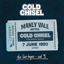 COLD CHISEL THE LIVE TAPES VOL 3 Manly Vale Hotel 1980 2 CD DIGIPAK NEW
