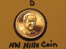 """DISCOUNTED 2014 D Franklin Roosevelt /""""Imperfect Uncirculated/"""" Presidential $"""