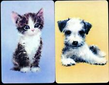 Vintage SWAP/PLAYING  CARDS WITH CAT AND DOG PAIR BRAND NEW