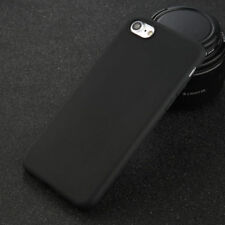 For iPhone 5 6 6s 7 8 Plus X Shockproof Thin Soft Silicone Matte Back Case Cover