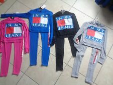 Girls bundle age 7-8-9-10-11-12-13 mix item clothes leggings hoodie set logo top