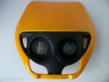 New Suzuki Yellow Universal Motorcycle Headlight Enduro Mx Trail Drz Rmz Rm Ts
