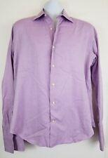 Saks Fifth Avenue Men's 15.5 39 Long Sleeve Dress Shirt