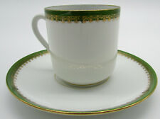L S & S Carlsbad Austria demitasse cup and saucer
