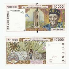 WEST AFRICAN STATES - Ivory Coast 10,000 Francs - P114Ah - UNC.