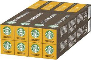 Starbucks Blonde Espresso Roast by Nespresso Blonde Roast 8 x 10 (80 Capsules)