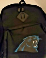Carolina Panthers Official NFL Backpack Adjustable Shoulder Straps BRAND NEW