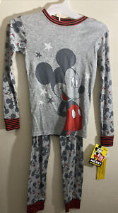 Disney  Mickey Mouse Boys Pajama Size 8  (Snug Fit)
