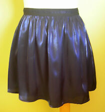 Ladies Womens Gathered Blue Mini Skirt Party Cocktail Evening Forever 21 Size S