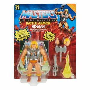 MATTEL MASTERS OF THE UNIVERSE DELUXE FIGURA 2021 HE- MAN 14CM