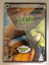 The Mask DVD JIM CARREY New Sealed
