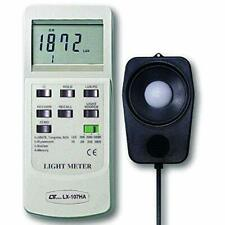 Digital Lux Meter 0 to 100000 Lux, 3 Ranges with 4 Selectable Light Types - T...