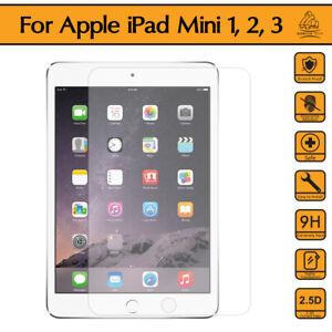 Gorilla Tech Apple iPad Mini 1 2 3 Tempered Glass Screen Protector Cover Shield